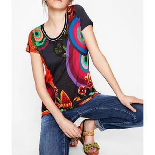 デシグアル(DESIGUAL)の新品 デシグアル 半袖Tシャツ カットソー Sサイズ 大幅お値下げ‼️(Tシャツ(半袖/袖なし))