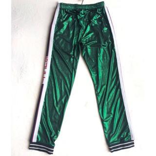 グッチ(Gucci)のGUCCI グッチ オーバーサイズ ラミネートジャージー ジョギングパンツ(その他)