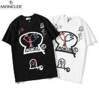 モンクレール(MONCLER)の2枚6000円送料込み 男女兼用 Tシャツ 半袖 美品 (Tシャツ(半袖/袖なし))