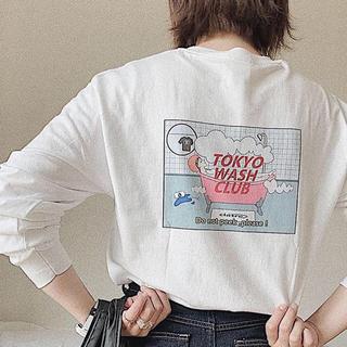 シュプリーム(Supreme)のtokyo wash club × ciatre ロンT(Tシャツ/カットソー(七分/長袖))