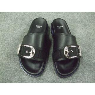 TOGA - TOGAトーガ新品Metal buckle sandal 37