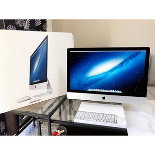 Mac (Apple) - 【薄型美品 iMac 27-inch, Late 2012】
