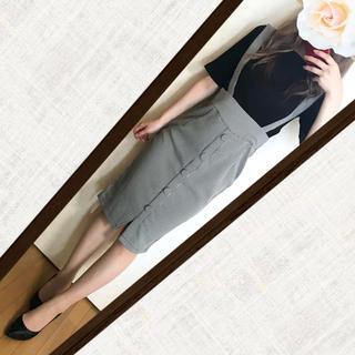 RESEXXY - リブカットソー×RESEXXY千鳥柄ミディスカート コーデ♡