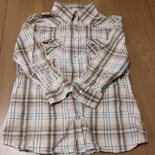 しまむら - しまむらの七分袖チェックシャツ