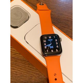 Apple Watch - Apple Watch エルメス series4本体+スポーツバンド+充電器