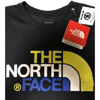 THE NORTH FACE - ノースフェイス Tシャツ 新品タグ付き 黒色 Mサイズ トリコロールカラー