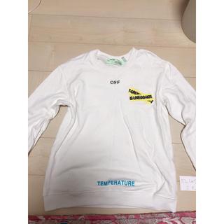 OFF-WHITE - off-white トレーナー スウェット ロングTシャツ