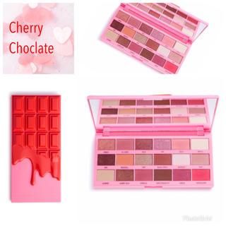 最新作!MUR  チョコレート アイシャドウパレット チェリー 日本未発売 新品