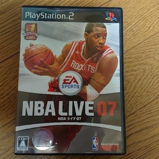 プレイステーション2(PlayStation2)のPS2 NBA LIVE07(家庭用ゲームソフト)