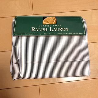 ラルフローレン(Ralph Lauren)のフルフラットシーツ(シーツ/カバー)
