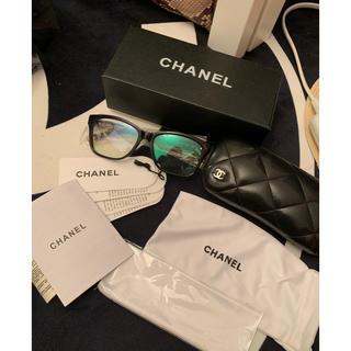 シャネル(CHANEL)のシャネル メガネ フレーム ブラック 黒 ゴールド(サングラス/メガネ)