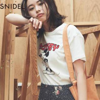 snidel - SNIDEL ミッキーTシャツ