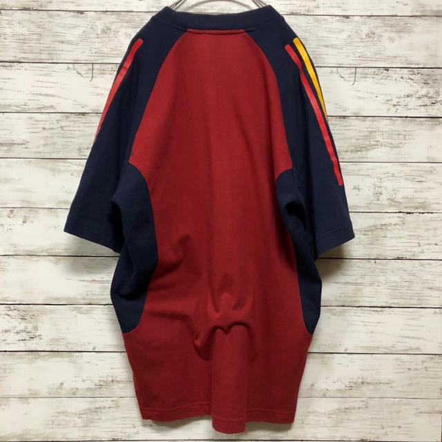 adidas(アディダス)の【スポーツMIX】90s アディダス スポーツシャツ ビッグシルエット メンズのトップス(Tシャツ/カットソー(半袖/袖なし))の商品写真