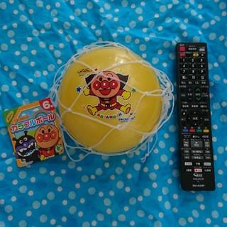 アンパンマン(アンパンマン)のアンパンマン カラフルボール 黄色 6号(ボール)