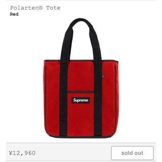 シュプリーム(Supreme)のSupreme Polartec Tote Red(トートバッグ)