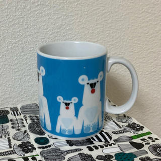 マリメッコ(marimekko)のマリメッコ  しろくま マグカップ(グラス/カップ)