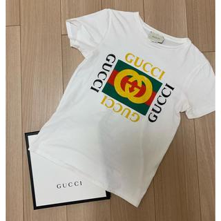 Gucci - GUCCI グッチ ロゴTシャツ サイズ12