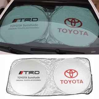 トヨタ(トヨタ)のTOYOTA TRD サンシェード 折りたたみ(車内アクセサリ)