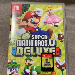 Nintendo Switch - スーパーマリオブラザーズU deluxe