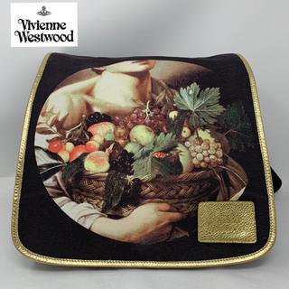 ヴィヴィアンウエストウッド(Vivienne Westwood)のVivienne Westwood リュック カラヴァッジョ ブラック(リュック/バックパック)