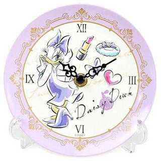 ディズニー プリンセス 置き時計 メラミントレークロック アナログ デイジー