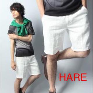 ハレ(HARE)のHARE リネンショートパンツ(ショートパンツ)