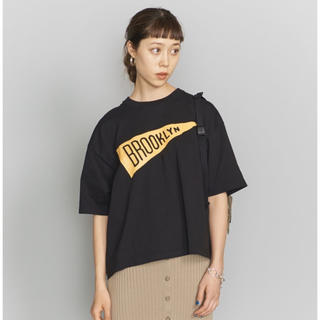 BEAUTY&YOUTH UNITED ARROWS - beauty&youth bibmilk ワイドプリントTシャツ