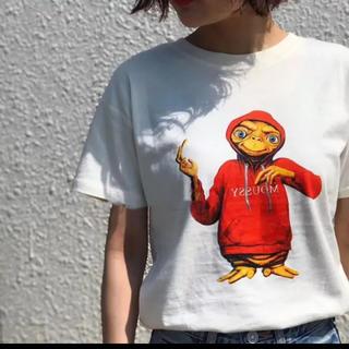 マウジー(moussy)のマウジー ET コラボ Tシャツ moussy  ホワイト(Tシャツ(半袖/袖なし))