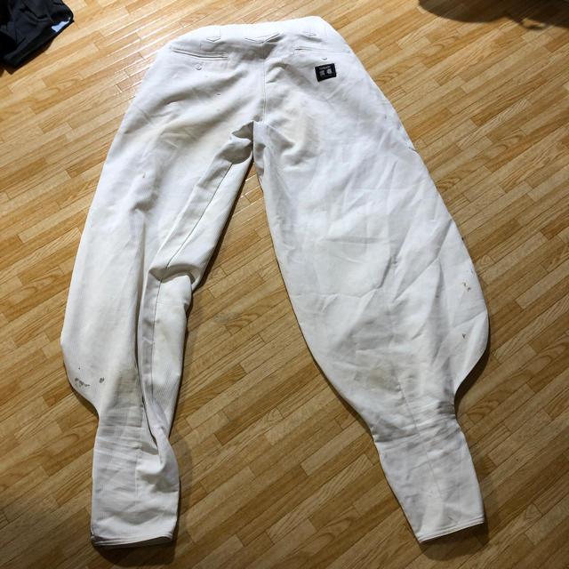寅壱(トライチ)の寅壱 超超ロング 白 メンズのパンツ(ワークパンツ/カーゴパンツ)の商品写真
