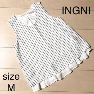INGNI - INGNI イング ノースリーブ トップス サイズM