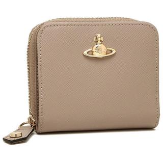 ヴィヴィアンウエストウッド(Vivienne Westwood)のヴィヴィアンウエストウッド☆未使用☆折財布☆ベージュ(財布)