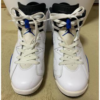 ナイキ(NIKE)のNIKE AIR JORDAN 6 sports Blue(スニーカー)