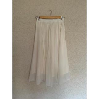 green label relaxing - グリーンレーベル white スカート
