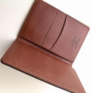 ルイヴィトン(LOUIS VUITTON)の美品です 正規品ルイヴィトン名刺入れ カードケース  (名刺入れ/定期入れ)
