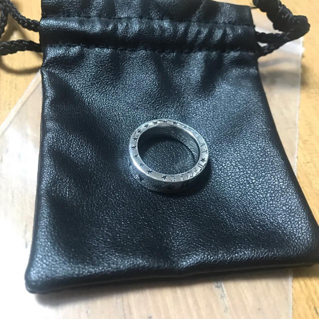 Chrome Hearts(クロムハーツ)の 美品 スターリング ダイヤ ブルーダイヤ シルバー925  メンズのアクセサリー(リング(指輪))の商品写真