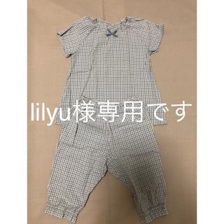 ムジルシリョウヒン(MUJI (無印良品))の無印良品 キッズ 女の子 110 パジャマ(パジャマ)