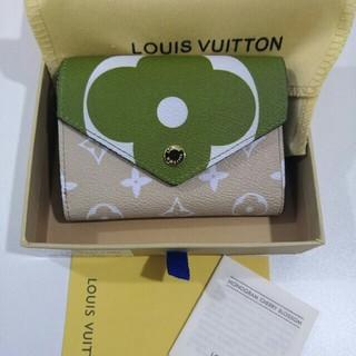 ルイヴィトン(LOUIS VUITTON)の極美品LOUIS VUITTON ルイヴィトン折りたたみ財布(折り財布)
