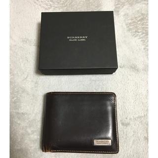 バーバリーブラックレーベル(BURBERRY BLACK LABEL)のバーバリー ブラックレーベル 2つ折り 財布(折り財布)