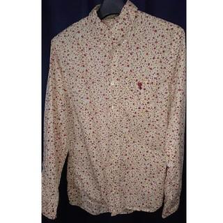 coen - coen メンズシャツ 花柄 赤系