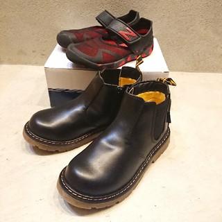 HANG TEN - ★新品 HANG TEN ブーツ& New Balance サンダル 20cm