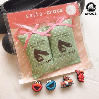 クロックス(crocs)の【5点】正規品 クロックス ジビッツ セサミ エルモ クッキーモンスター おまけ(その他)