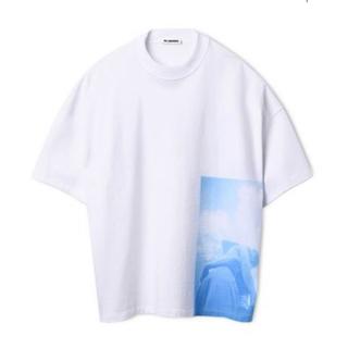 Jil Sander - JIL SANDER 19ss オーバーサイズフォトプリントTシャツ