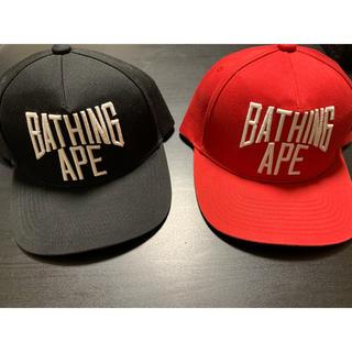 アベイシングエイプ(A BATHING APE)のA BATHING APE スナップバックキャップ(キャップ)