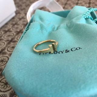 ティファニー(Tiffany & Co.)のティファニー Tワイヤーリング新品7号(リング(指輪))