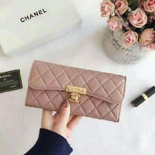 シャネル(CHANEL)のCHANEL 二つ折り長財布(長財布)
