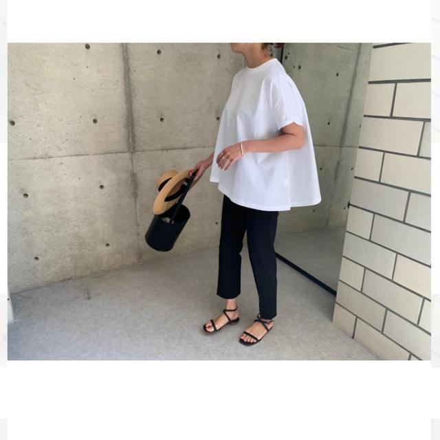 ella cotton pique T 新品未使用タグ付き レディースのトップス(シャツ/ブラウス(長袖/七分))の商品写真