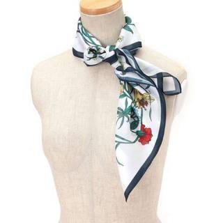 ジーナシス(JEANASIS)のJEANASIS  花柄スカーフ(バンダナ/スカーフ)