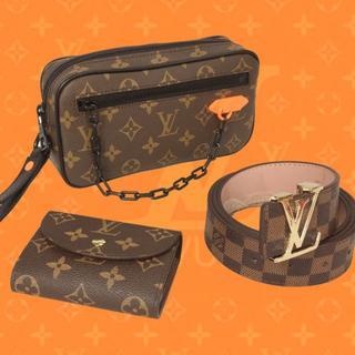 ルイヴィトン(LOUIS VUITTON)のクラッチバッグ 財布 ベルト 3点 ルイヴィトン (クラッチバッグ)