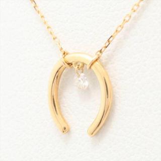 アーカー(AHKAH)のアーカー ダイヤモンドホースシュー 馬蹄ネックレス(ネックレス)