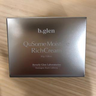 ビーグレン(b.glen)のb-glen QuSomeリッチクリーム(フェイスクリーム)
